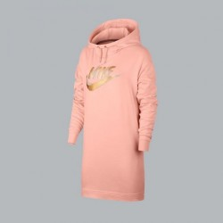 SUDADERA NIKE NSW DRESS METALLIC
